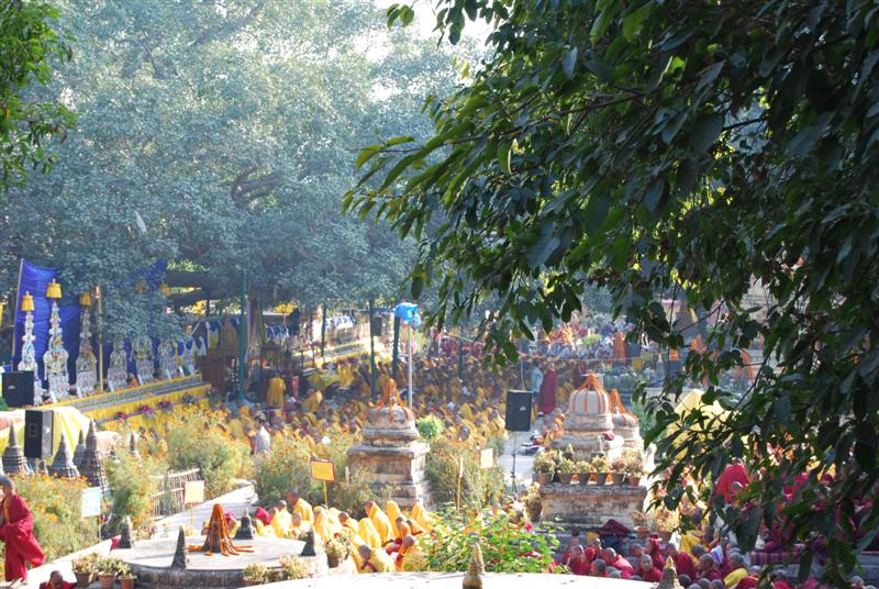 Monlam in Bodhgaya