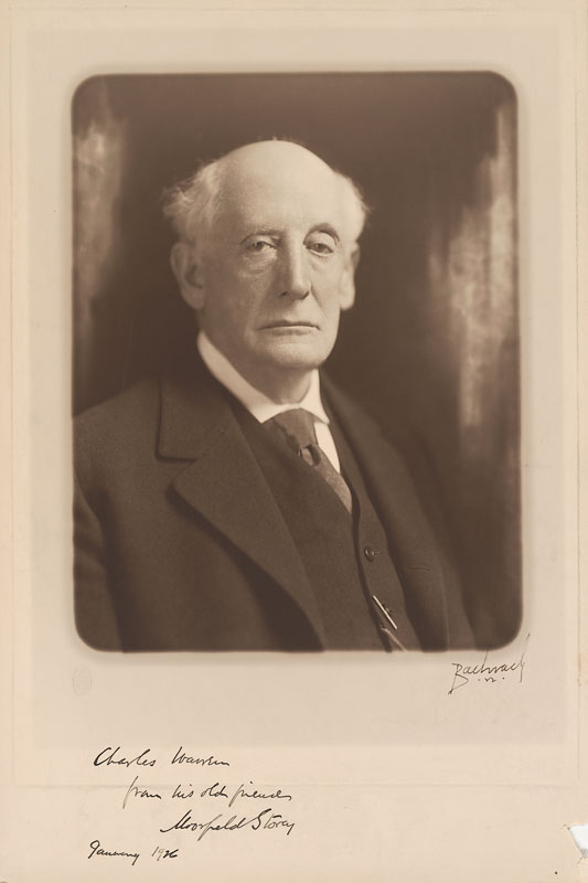 Moorfield Storey.