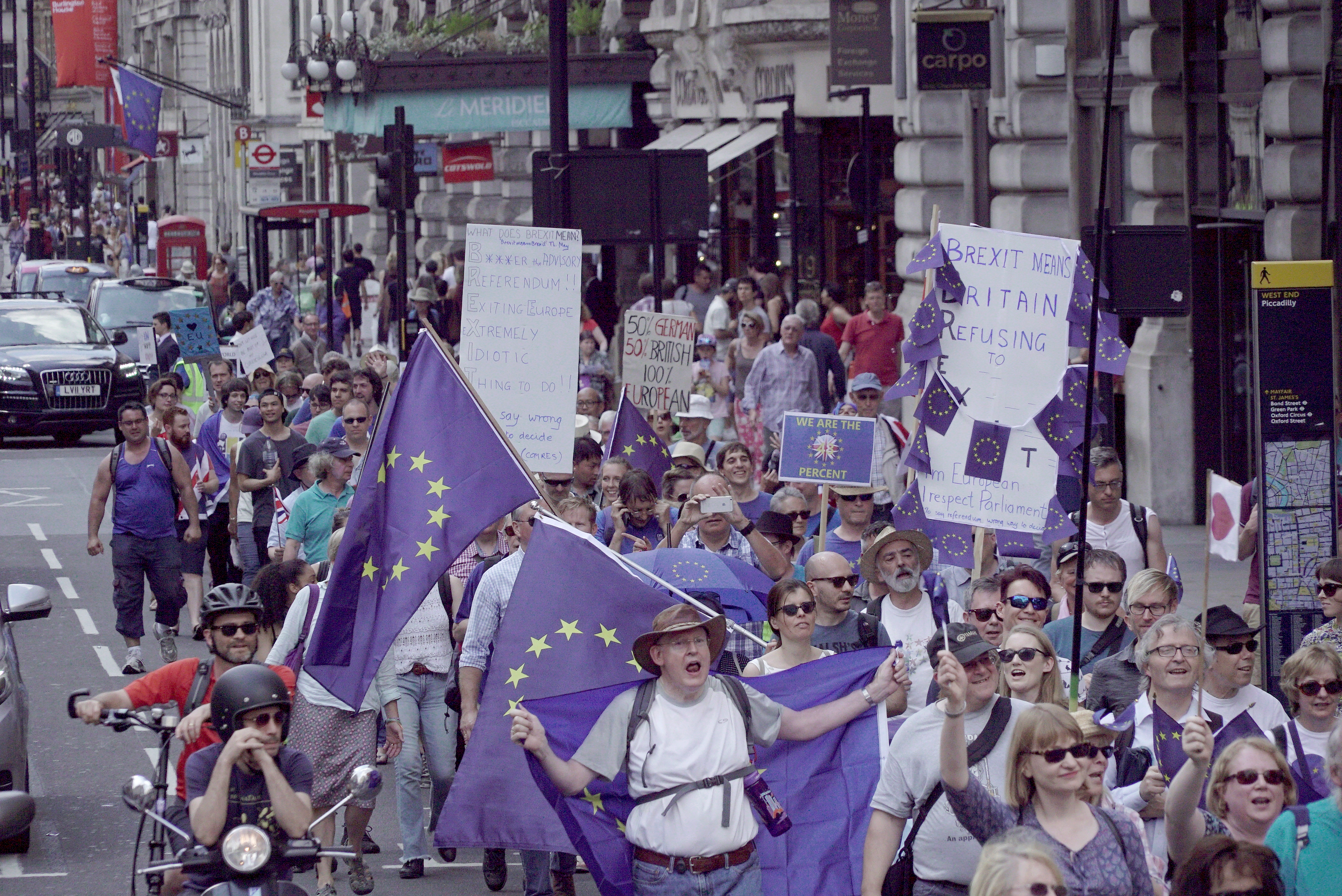 Move for Europe demonstration in London