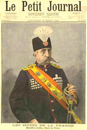 در مجله فرانسوی پتیت، ۱۹ اوت ۱۹۰۰