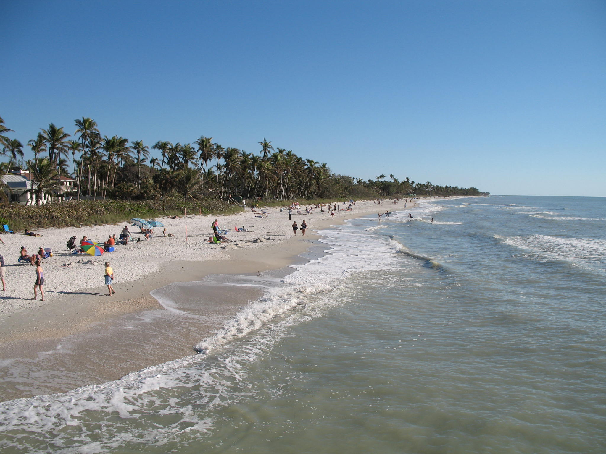 Florida Beaches Near Restaurant