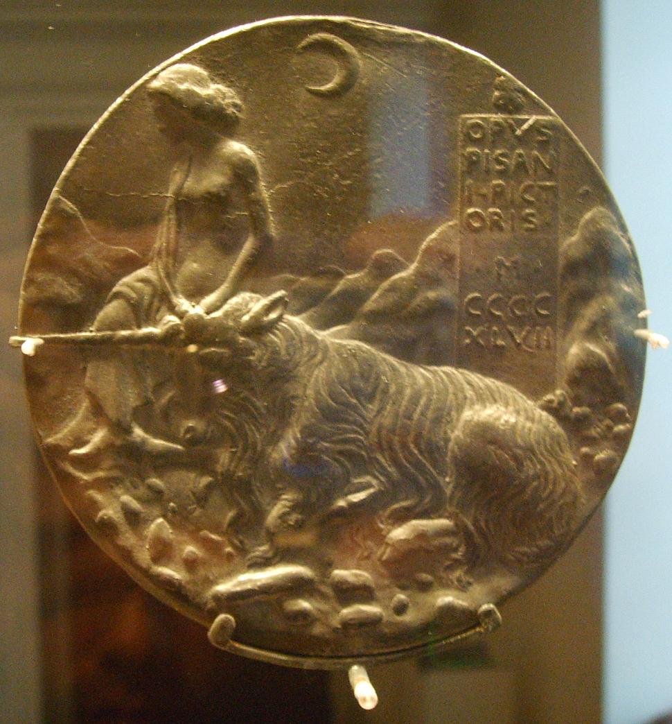 Medalje - Page 2 National_gallery_in_washington_d.c.,_pisanello,_medaglia_di_cecilia_gonzaga_verso
