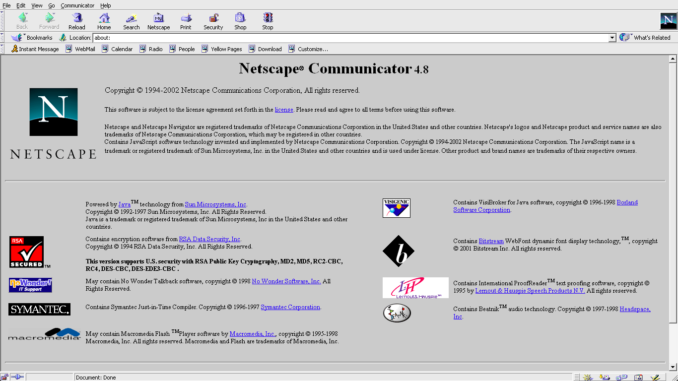 Netscape personals