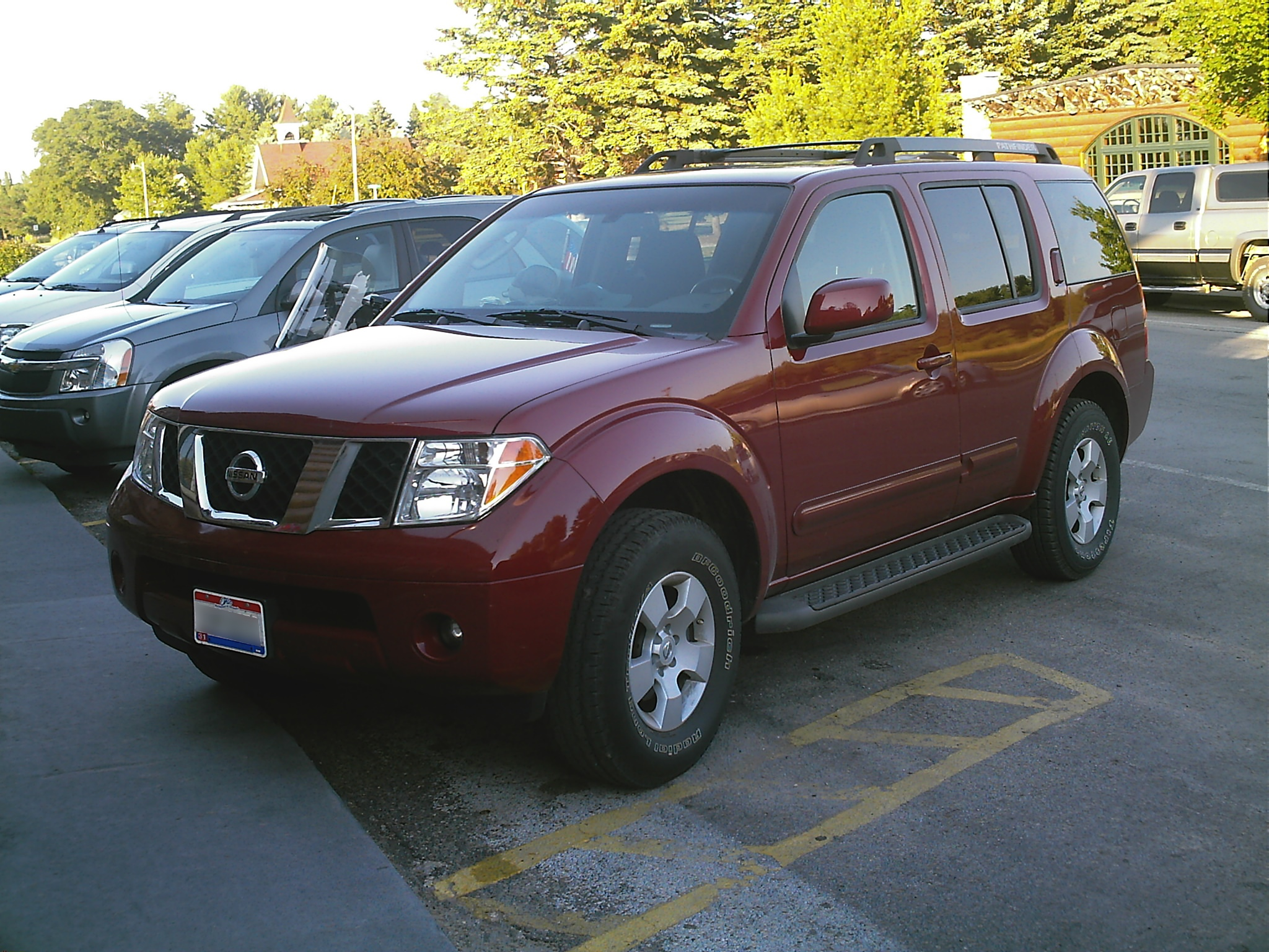 File Nissan Pathfinder 2006 Jpg Wikimedia Commons