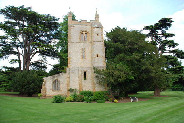 Norman Chapel In The Grounds Of Ettington Park Hotel Geograph Org Uk