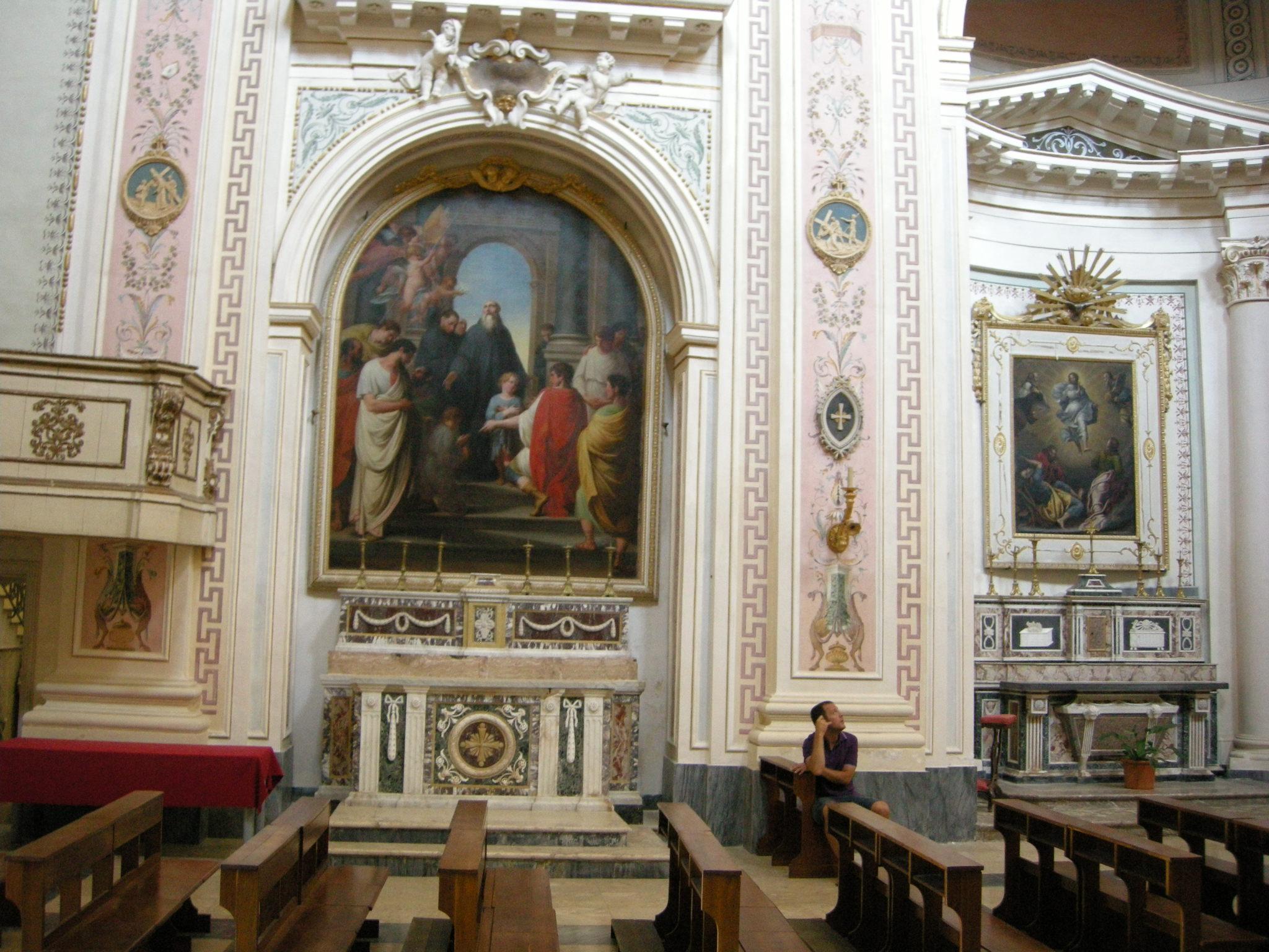 File Noto Chiesa Del Santissimo Salvatore Interno 09 Jpg