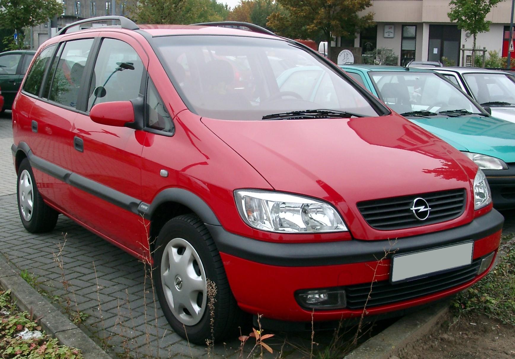 Schema Elettrico Per Kg : Opel zafira wikipedia