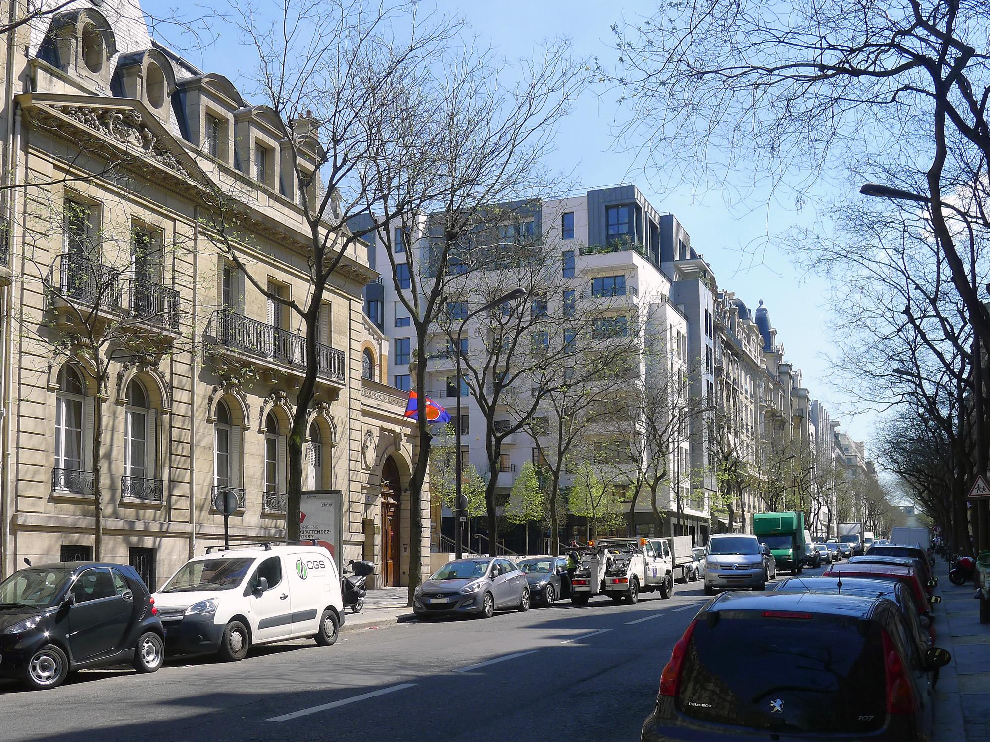 Avenue raymond poincar paris wikiwand - Victor hugo paris 16 ...