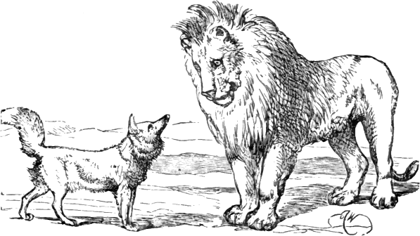 Page 135 illustration to Three hundred Aesop's fables (Townshend)