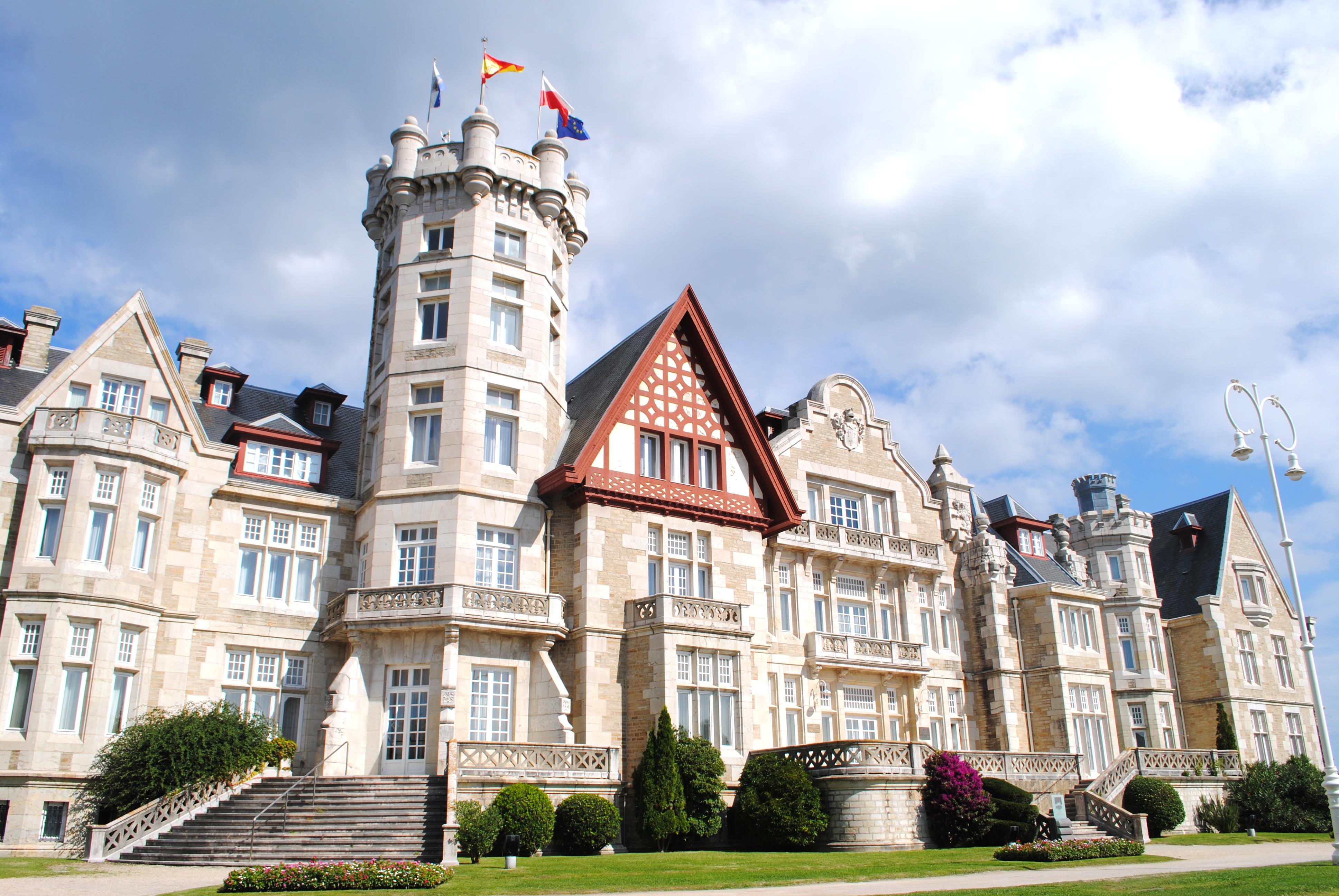 Palacio de La Magdalena - Wikipedia, la enciclopedia libre