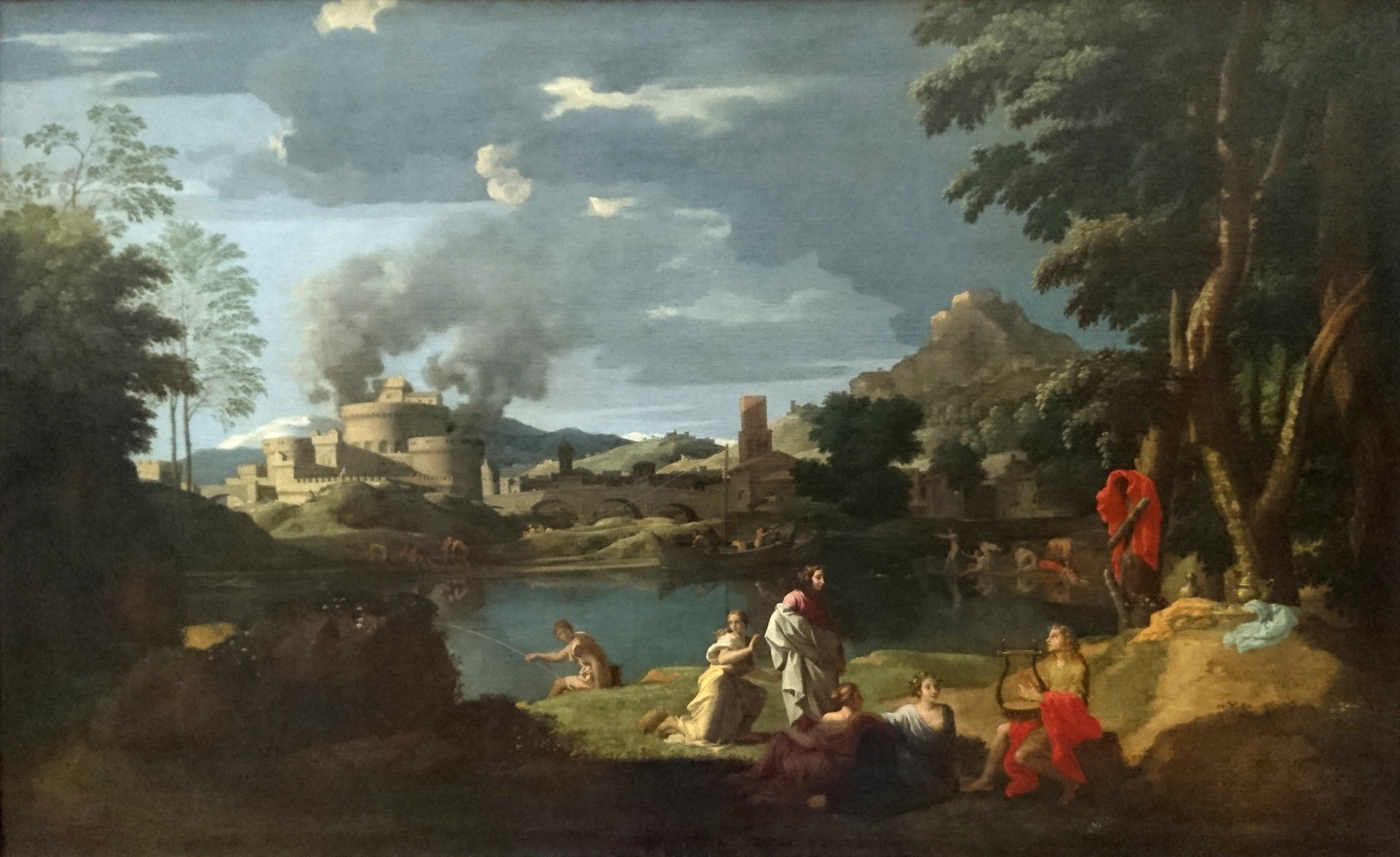File Paysage Avec Orph 233 E Et Eurydice Nicolas Poussin