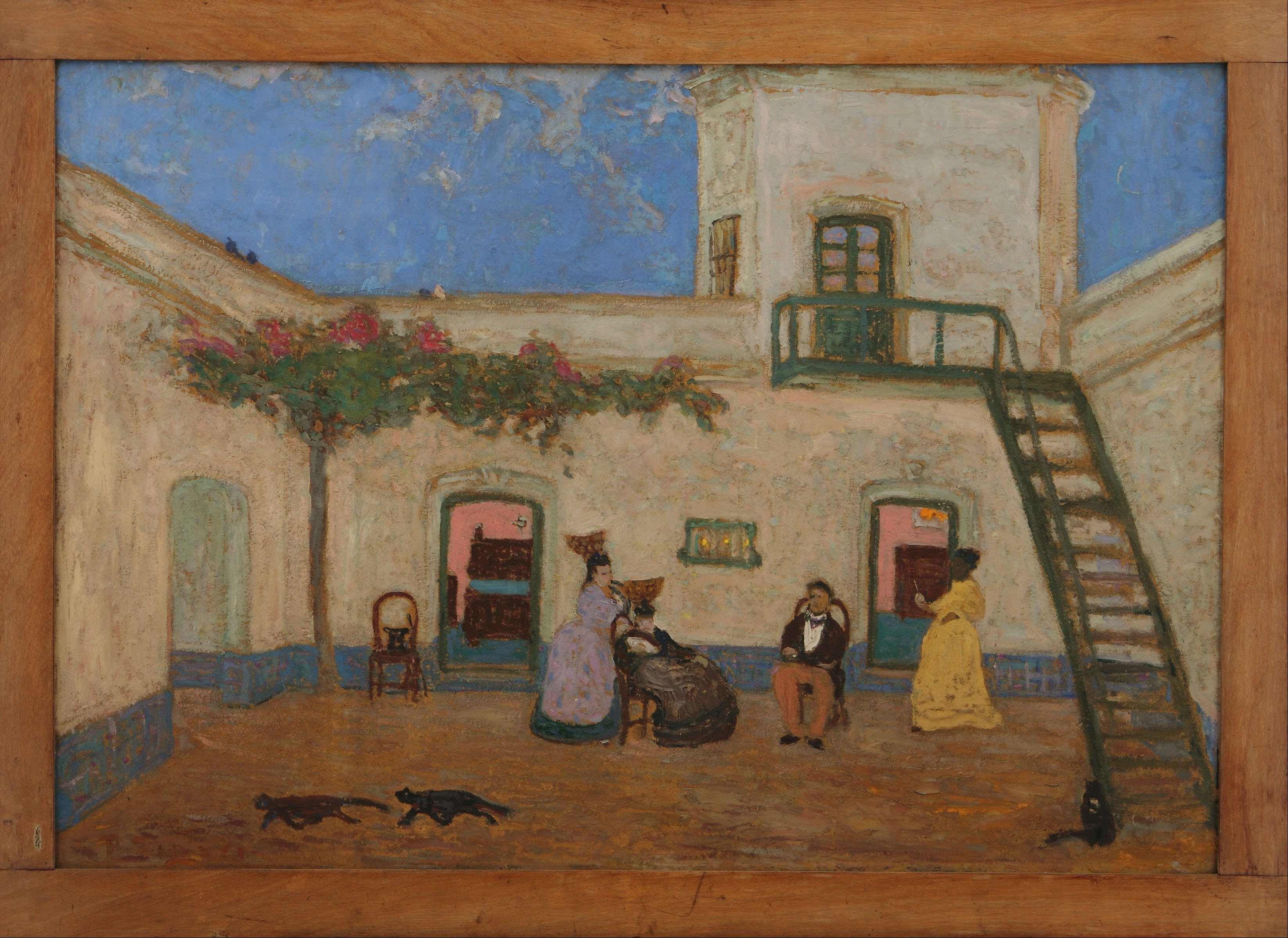 File:Pedro Figari   El Patio O Patio Unitario   Google Art Project