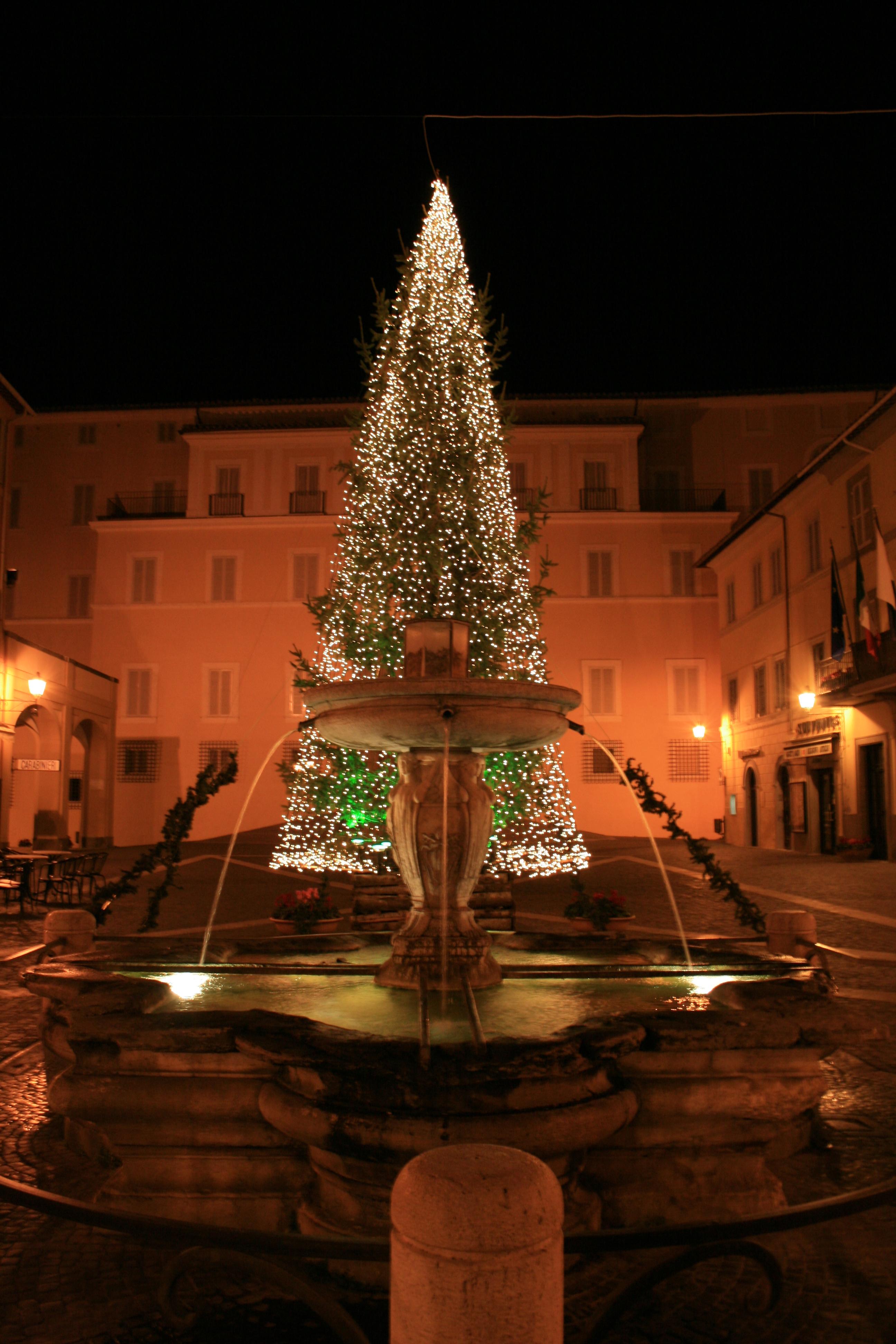Piazza della Libertà di Castel Gandolfo
