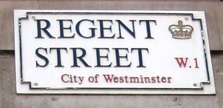 Regent's Street - Portrait of a Regent - Philippa Jane Keyworth - Regency Romance Author
