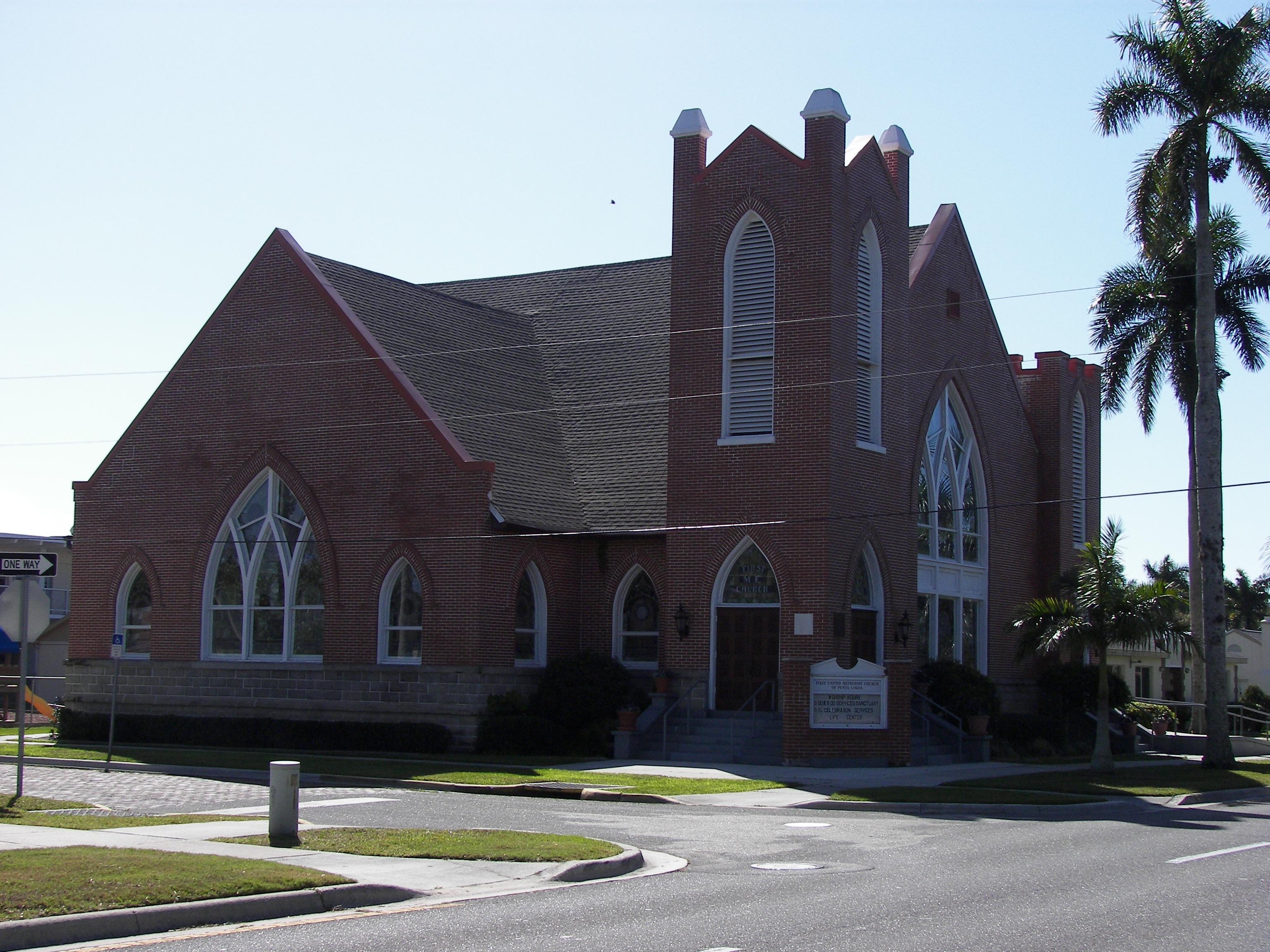 Description punta gorda first united methodist church