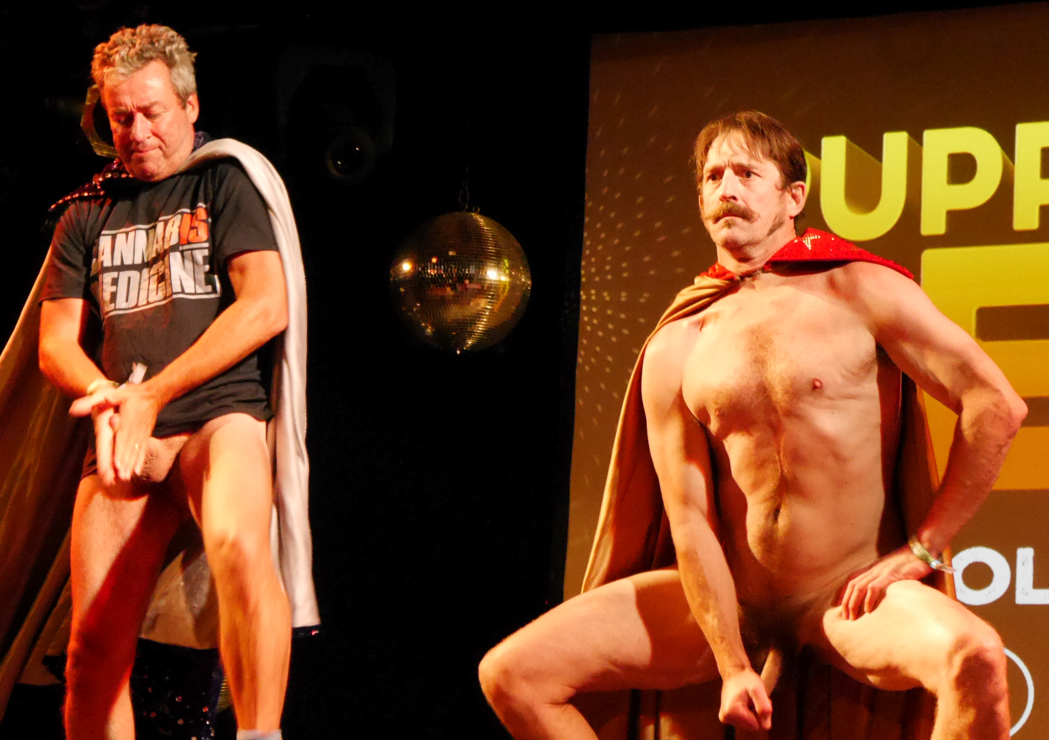 Testicular Tricks Take To The Stage
