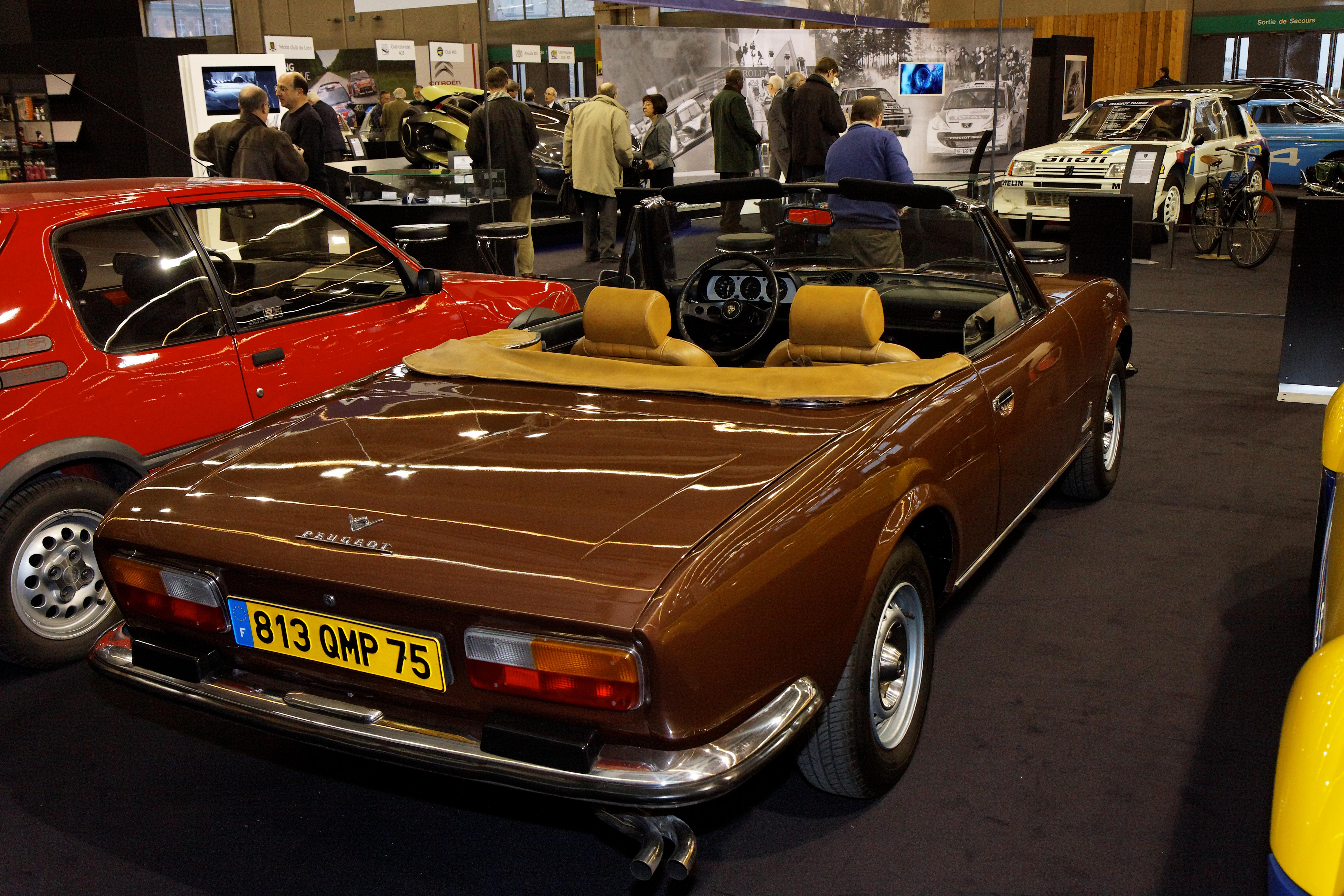 File Retromobile 2011 Peugeot 504 V6 Cabriolet 1977 007 Jpg