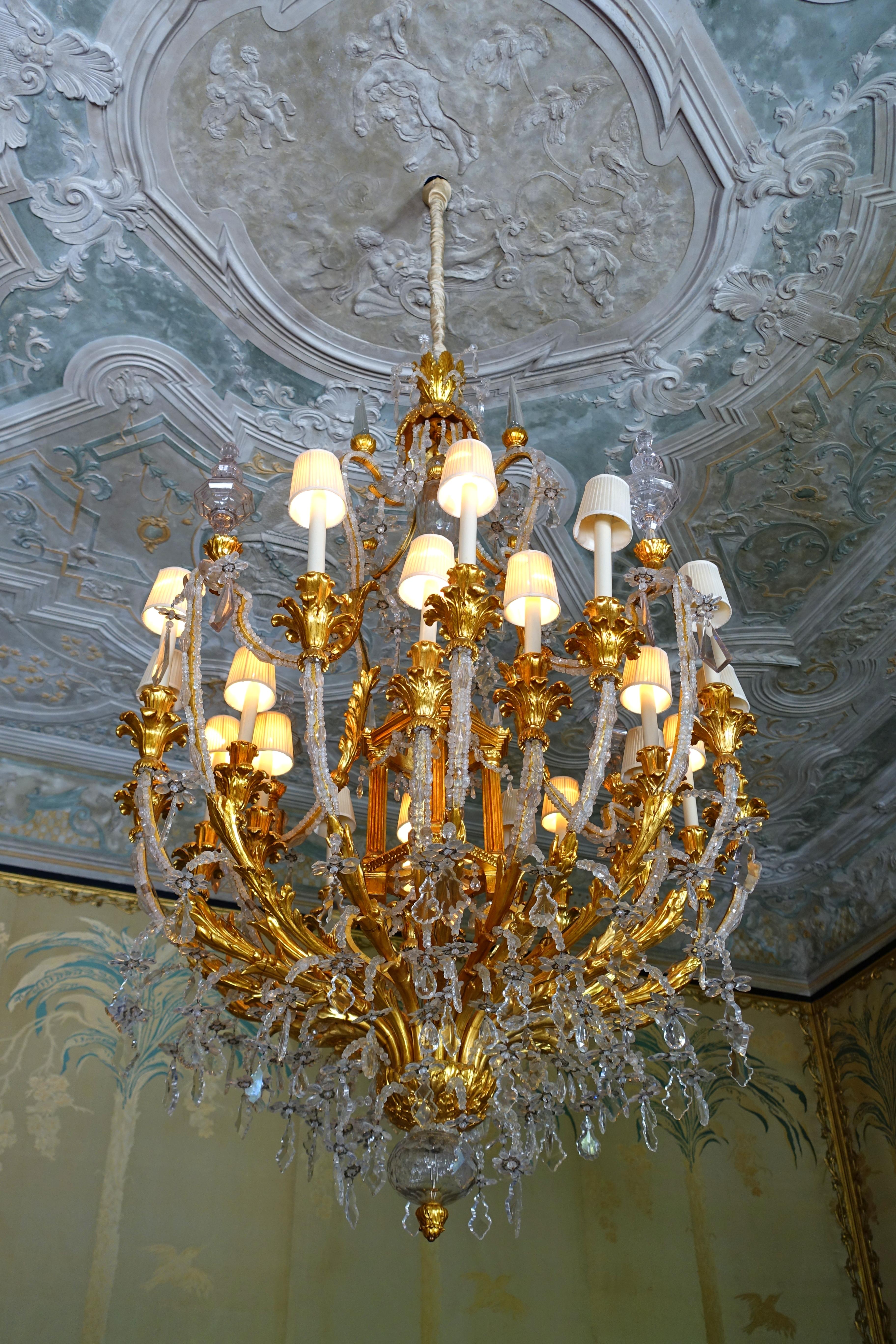 File:Reception Room chandelier - Vizcaya Museum and Gardens - Miami ...