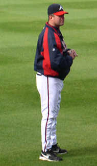 McDowell as pitching coach for the Braves in 2007
