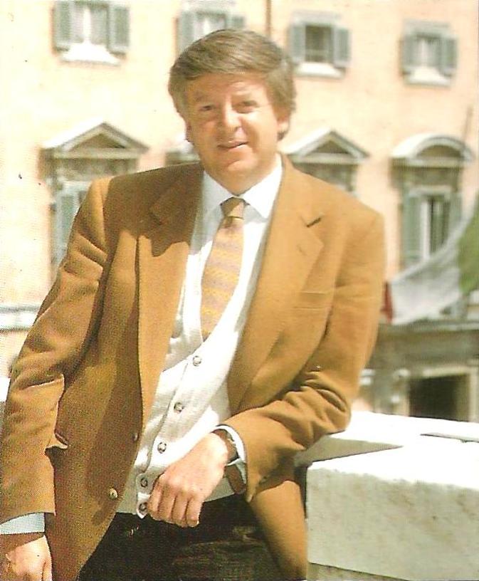 Ruggero Marino's photo shot on the terrace of Il Tempo newspaper in Rome.