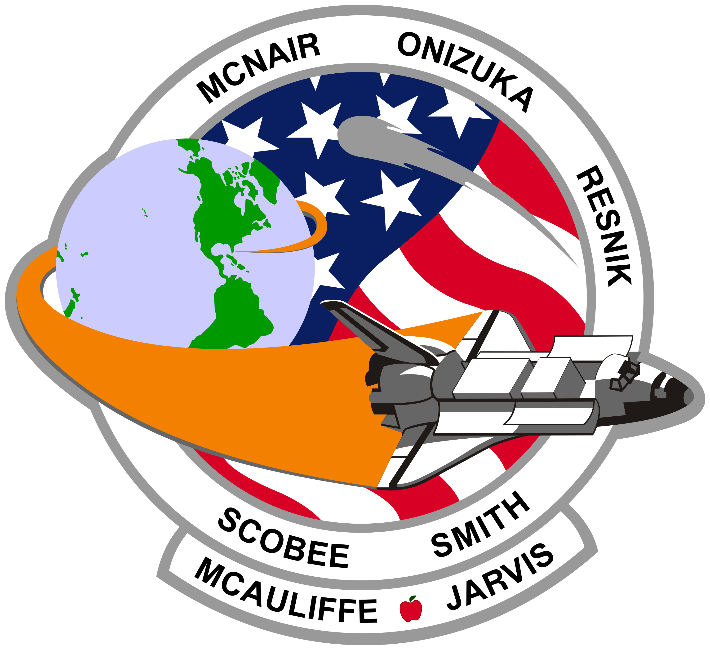 NASA SPACE SHUTTLE DISCOVERY STS51 MISSION PATCH NEW WITHOUT TAGS