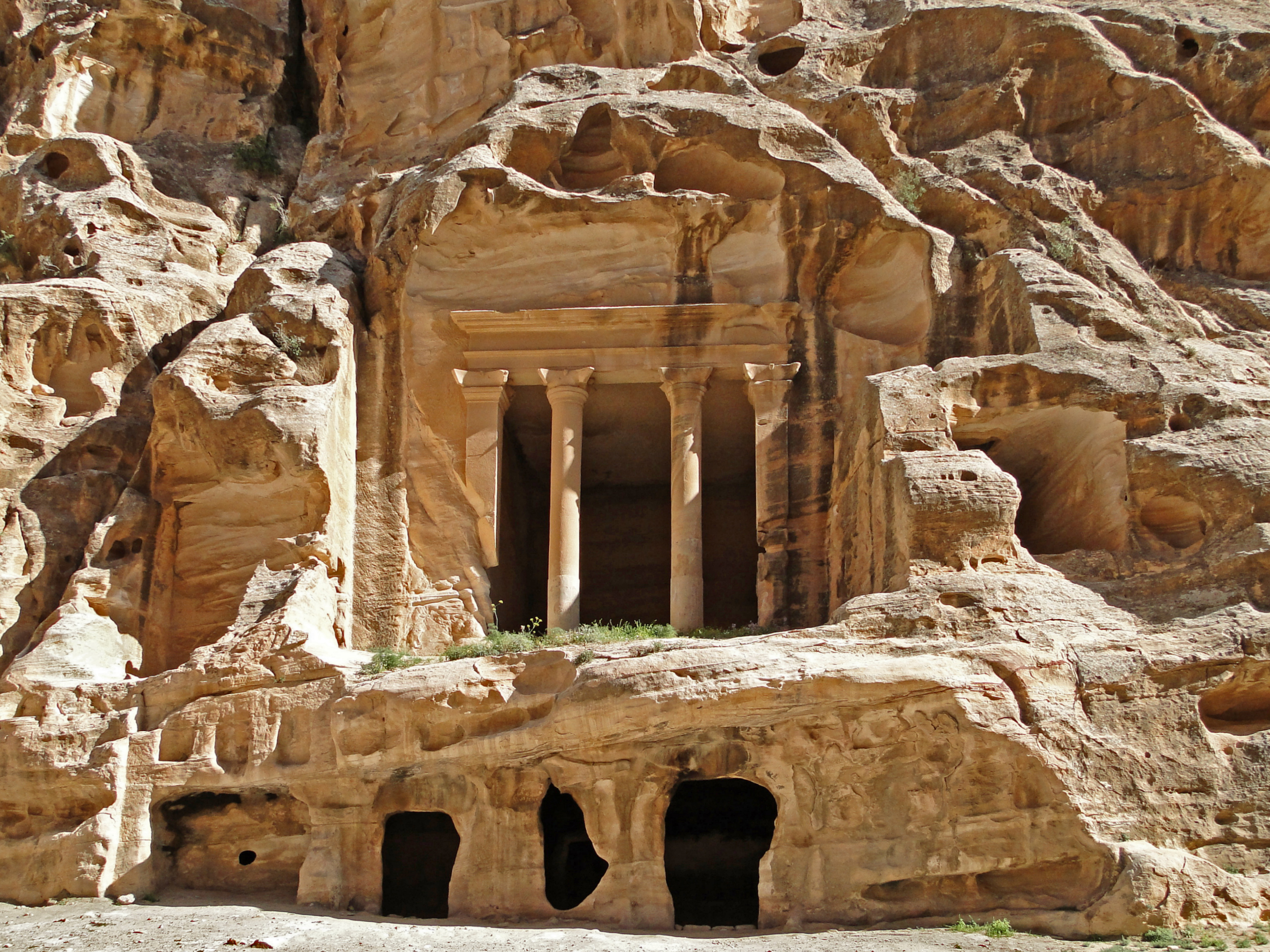 ruta de viaje por jordania - little petra
