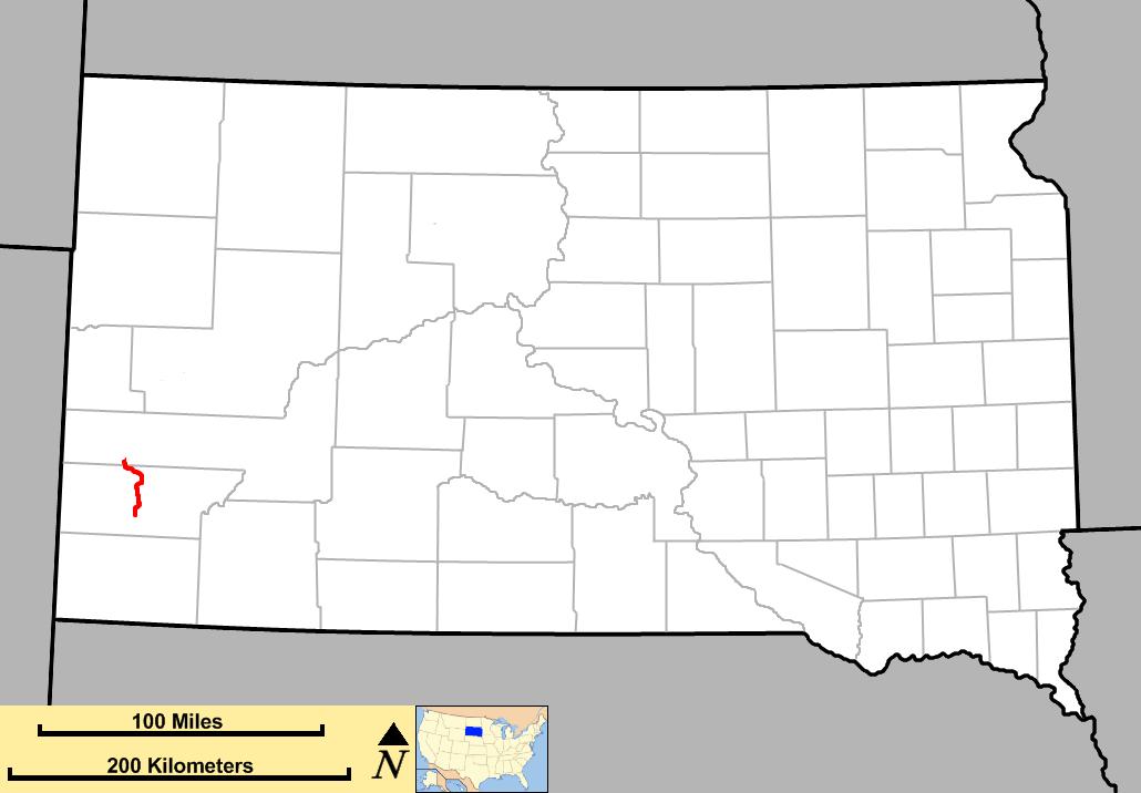 needles highway south dakota map South Dakota Highway 87 Wikipedia needles highway south dakota map