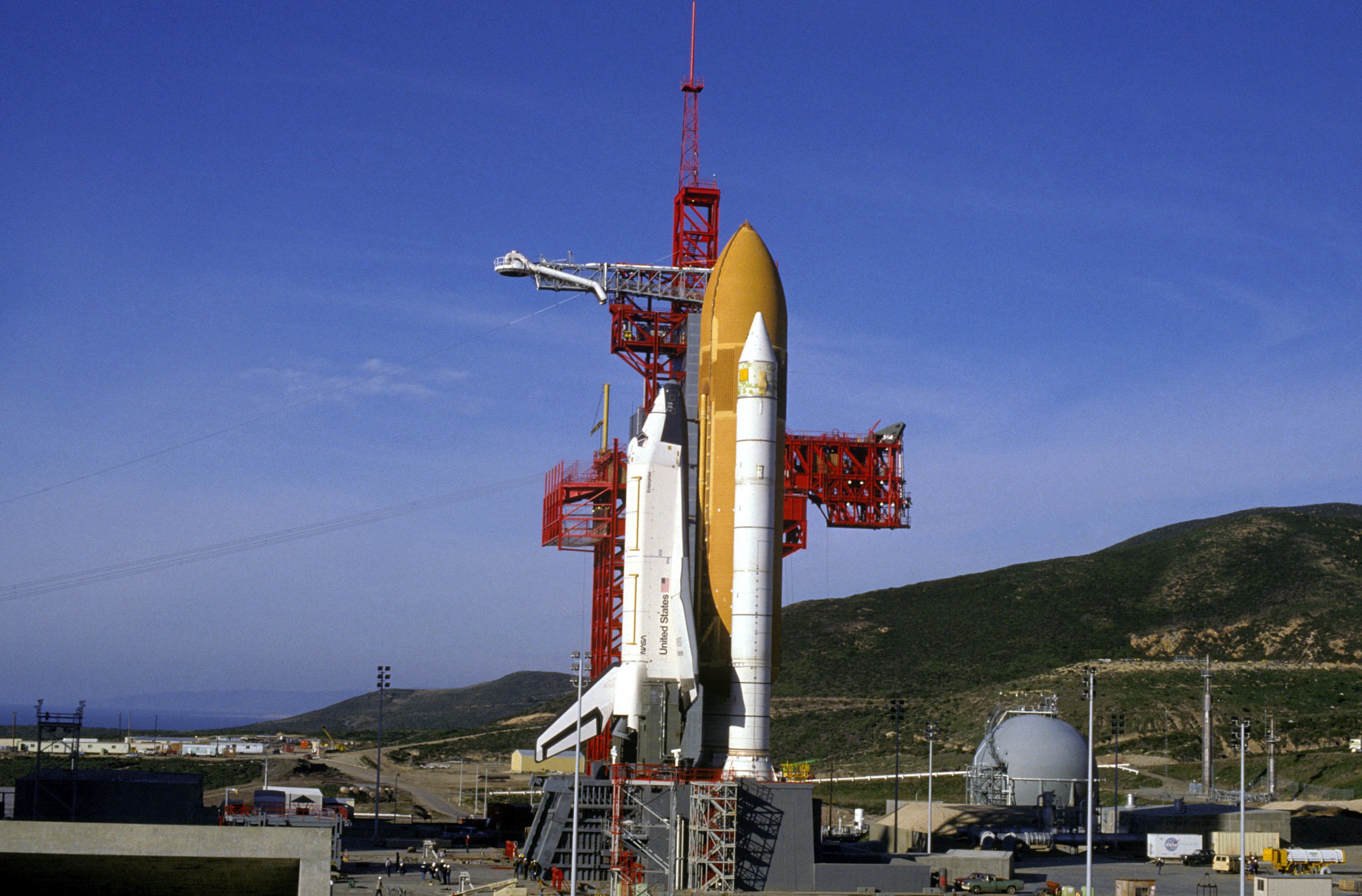 space shuttle at vandenberg - photo #8
