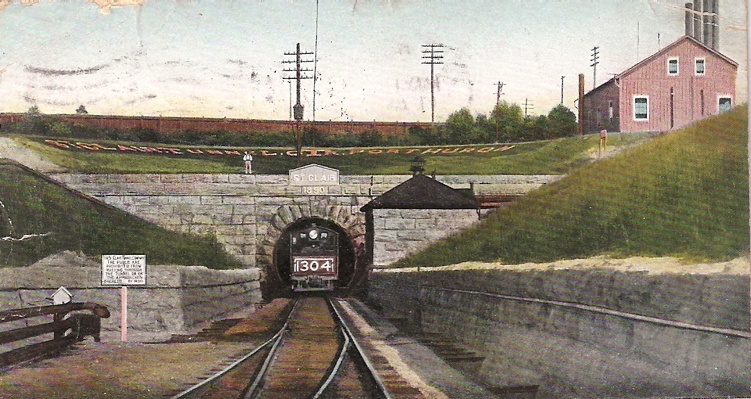 St  Clair Tunnel - Wikipedia