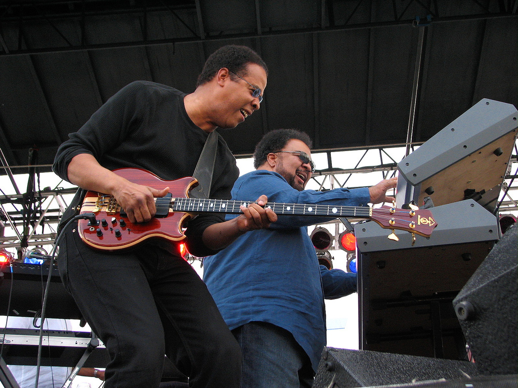 File:Stanley Clarke and George Duke.jpg - Wikimedia Commons