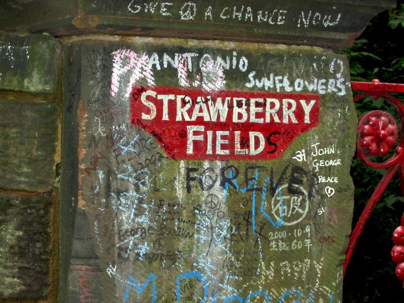Ficheiro:Straberry field sign.jpg