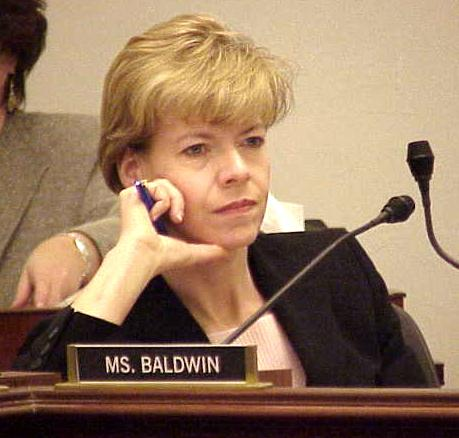 Tammy Baldwin, first openly gay United States Senator