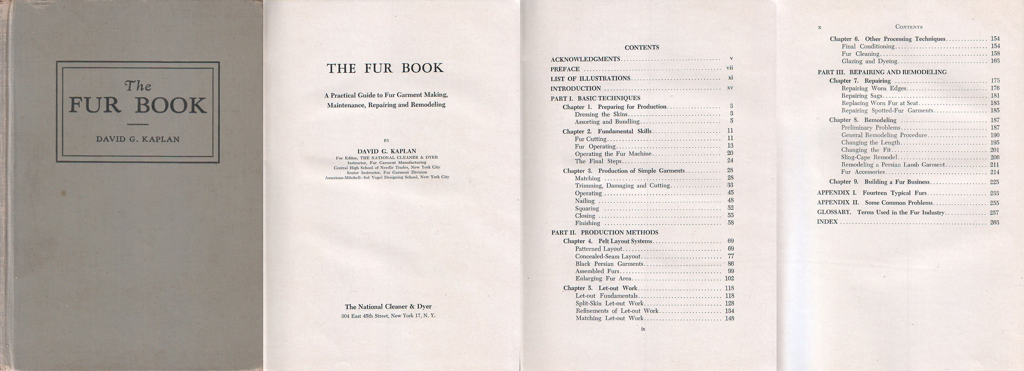 File:The Fur Book, David G. Kaplan, New York 1950