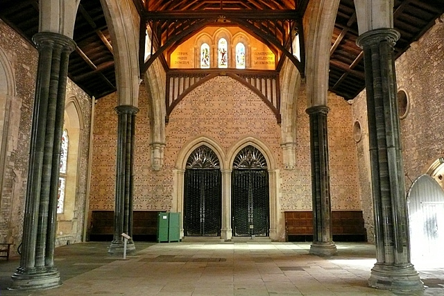 File The Great Hall Winchester Castle Geograph Org Uk