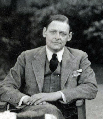 Eliot in 1934 by Lady Ottoline Morrell