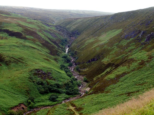 Torside Clough in June 07 - geograph.org.uk - 481691