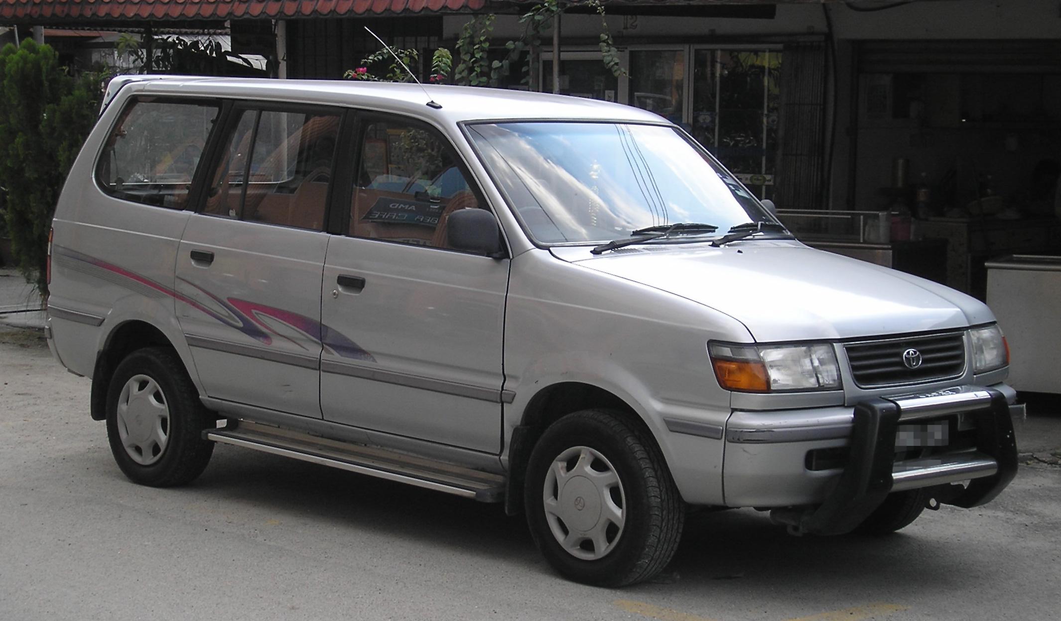 Datei:Toyota Unser (fifth generation) (front), Kajang.jpg