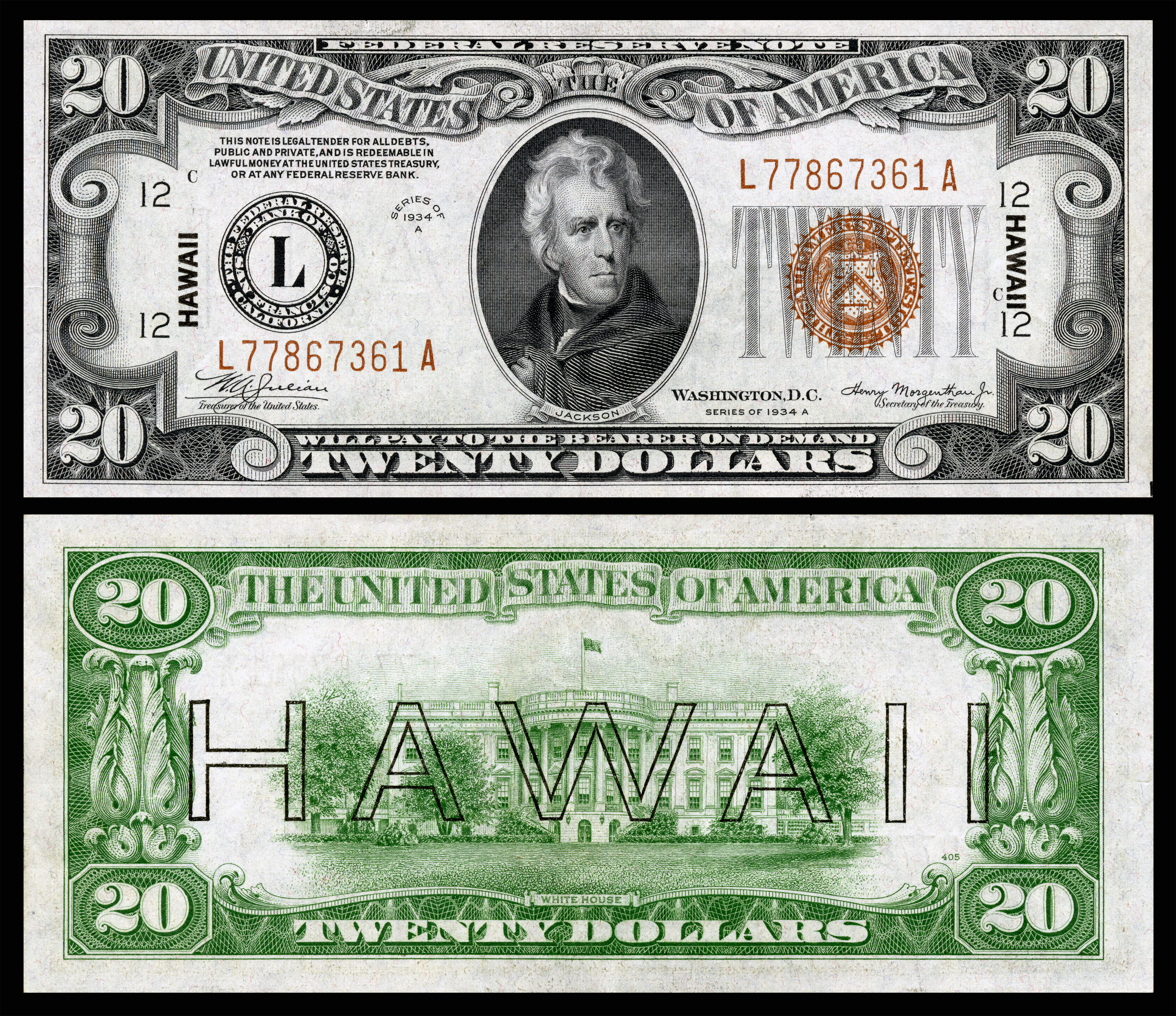 Hawaii overprint note wikiwand 1betcityfo Images