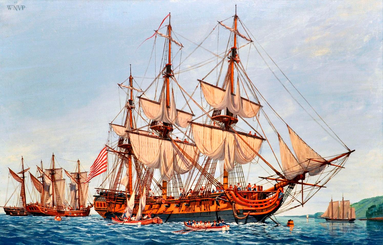 Sailing frigates of the United States Navy