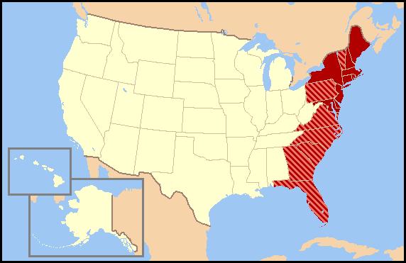 Map East Coast Map East Coast Usa Map East Coast Map East Coast