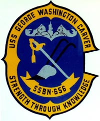 Insignia of the USS George Washington Carver, ...