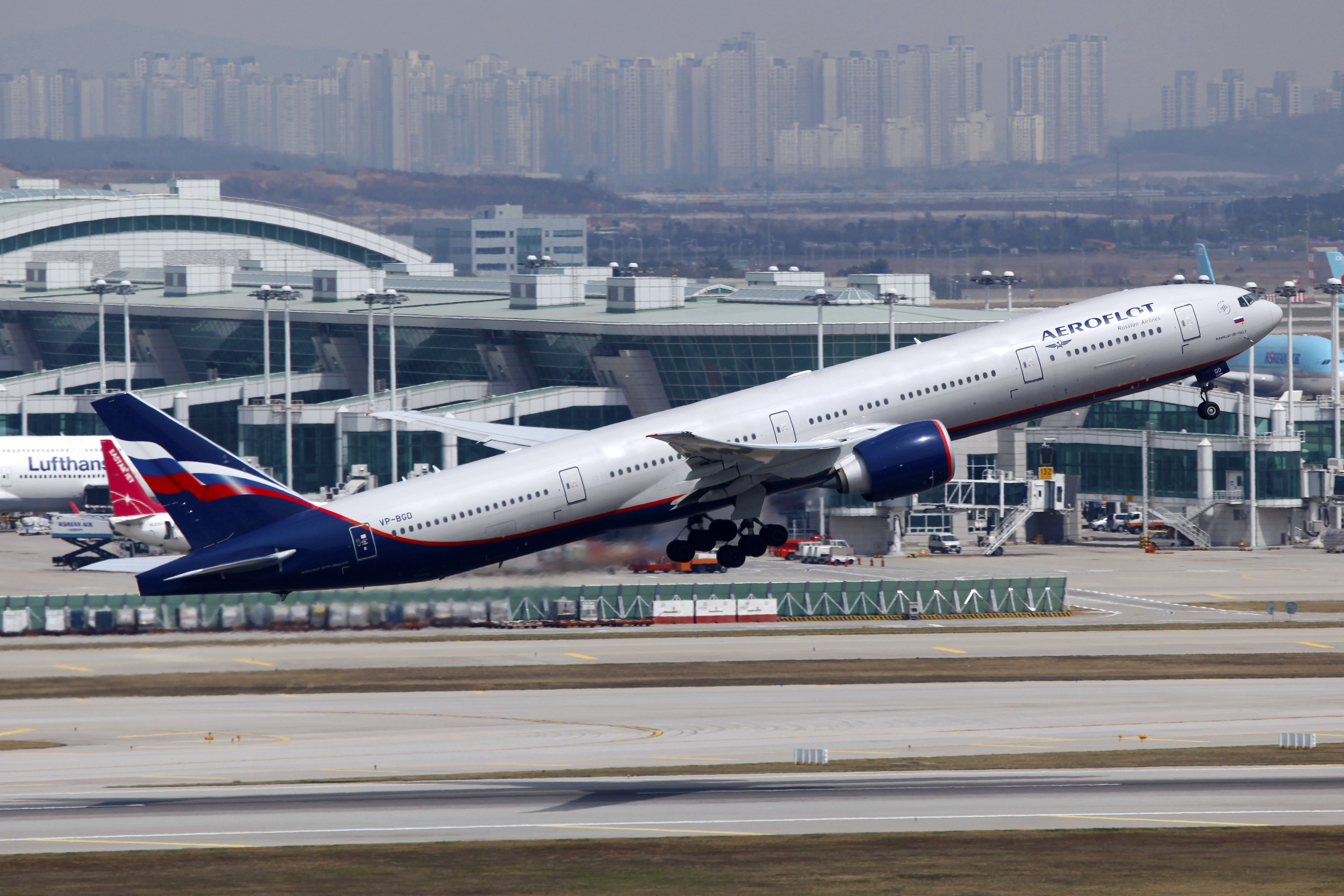 Image result for aeroflot incheon airport