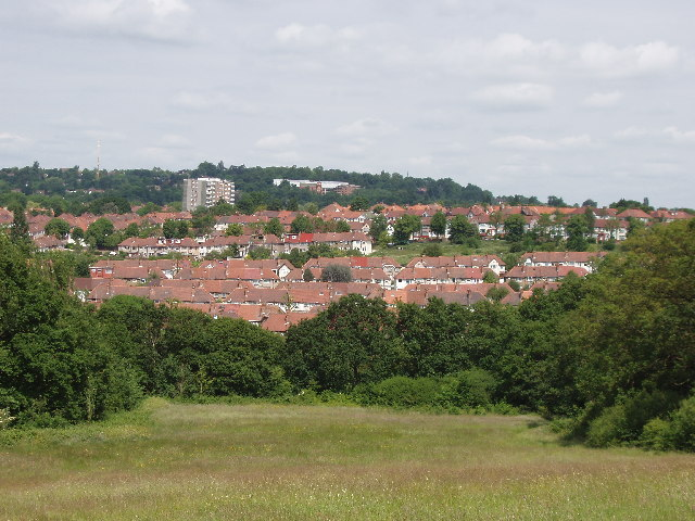 View North from Horsenden Hill, across to Sudbury Hill - geograph.org.uk - 17509