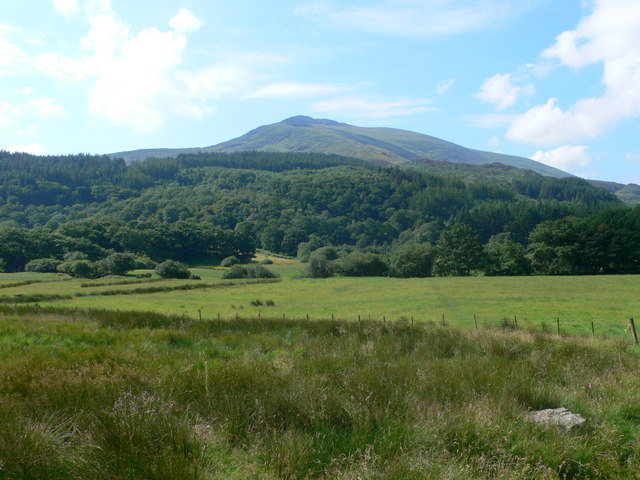 View towards Moel Siabod from Capel Curig - geograph.org.uk - 914033