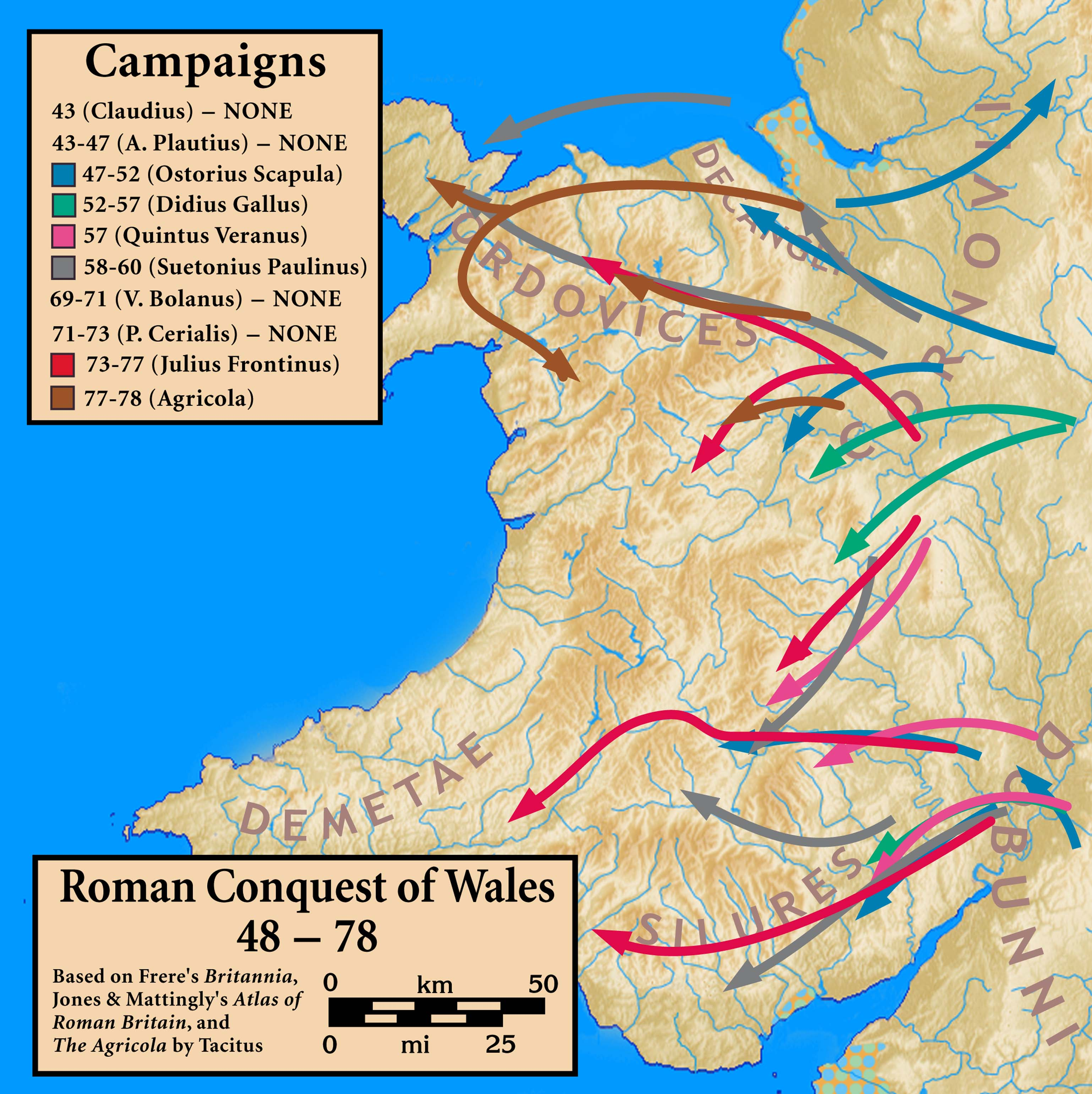 Map Of England 980 Ad.Historical Maps