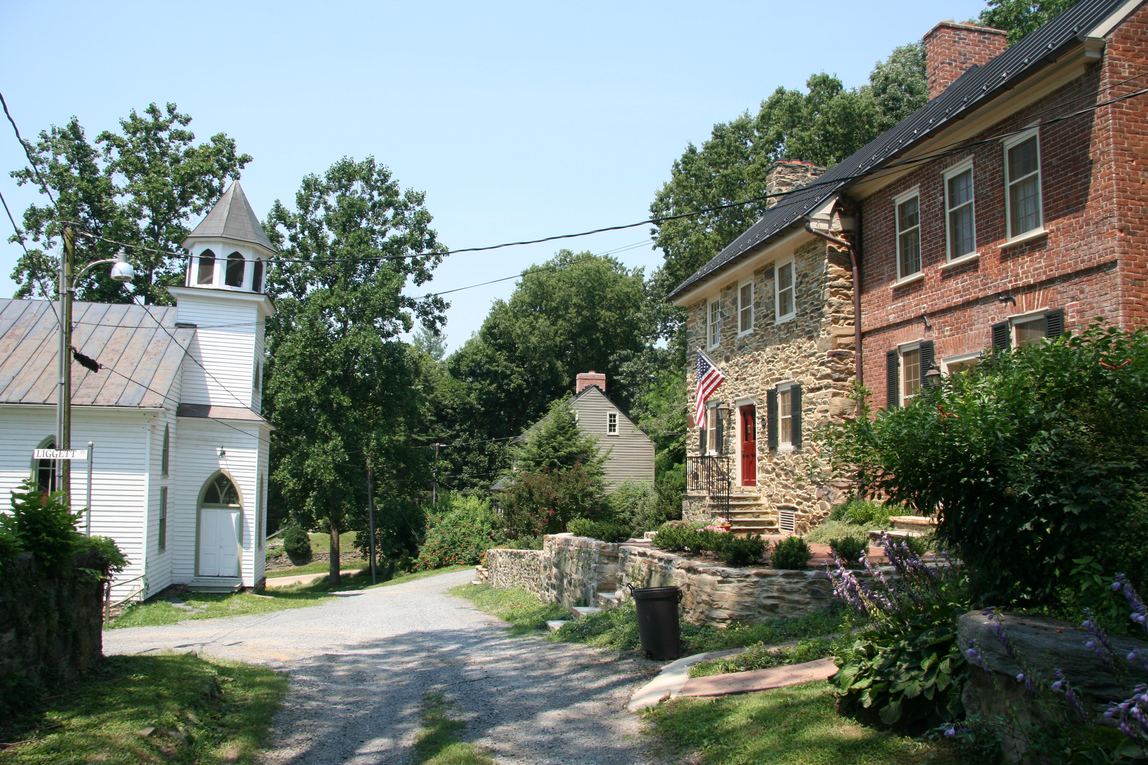 File Waterford Virginia Liggett Street Jpg Wikimedia