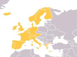 Cartina Muta Europa Centro Occidentale.Europa Occidentale Wikipedia