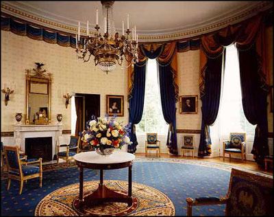 Wonderful White House Floor1 Blue Room ...