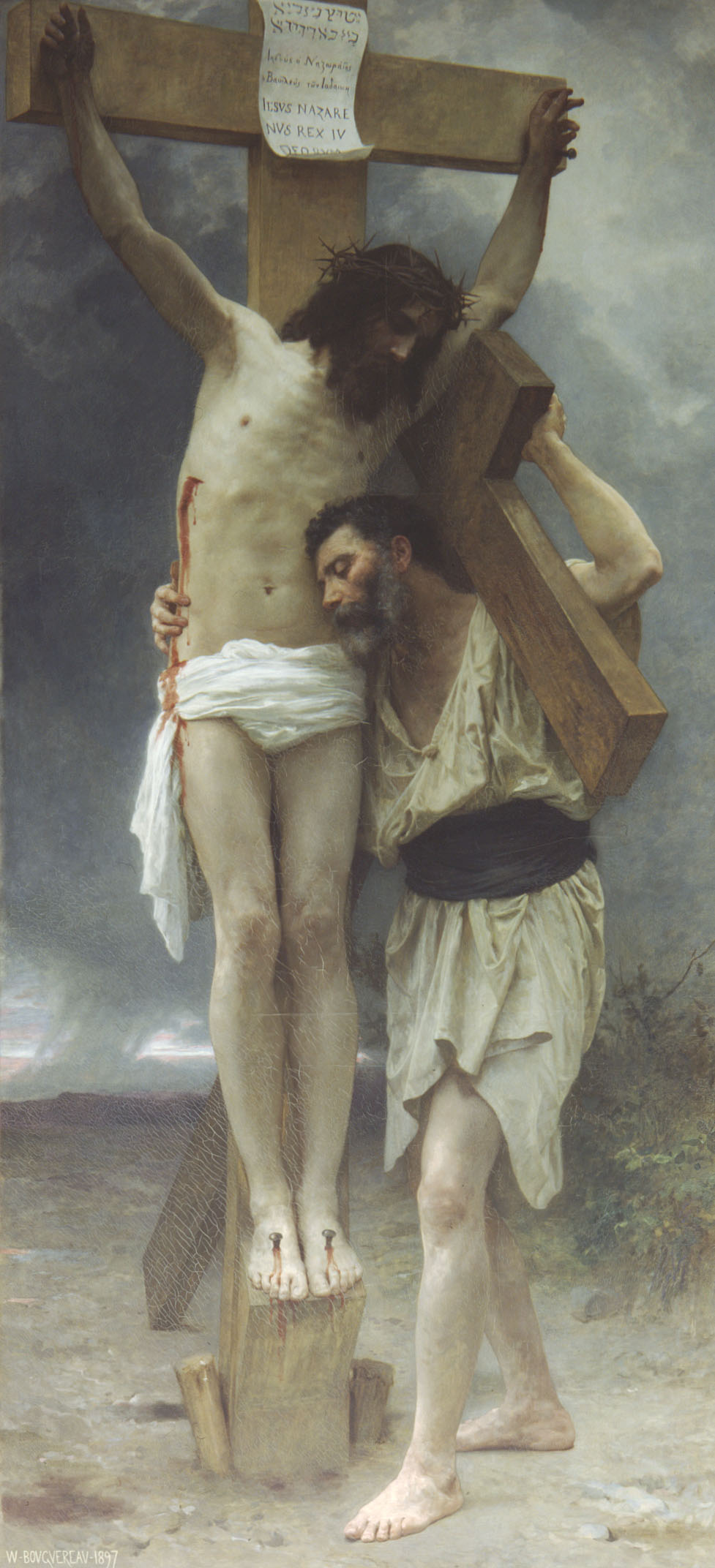 Bouguereau, Compassion (1897)