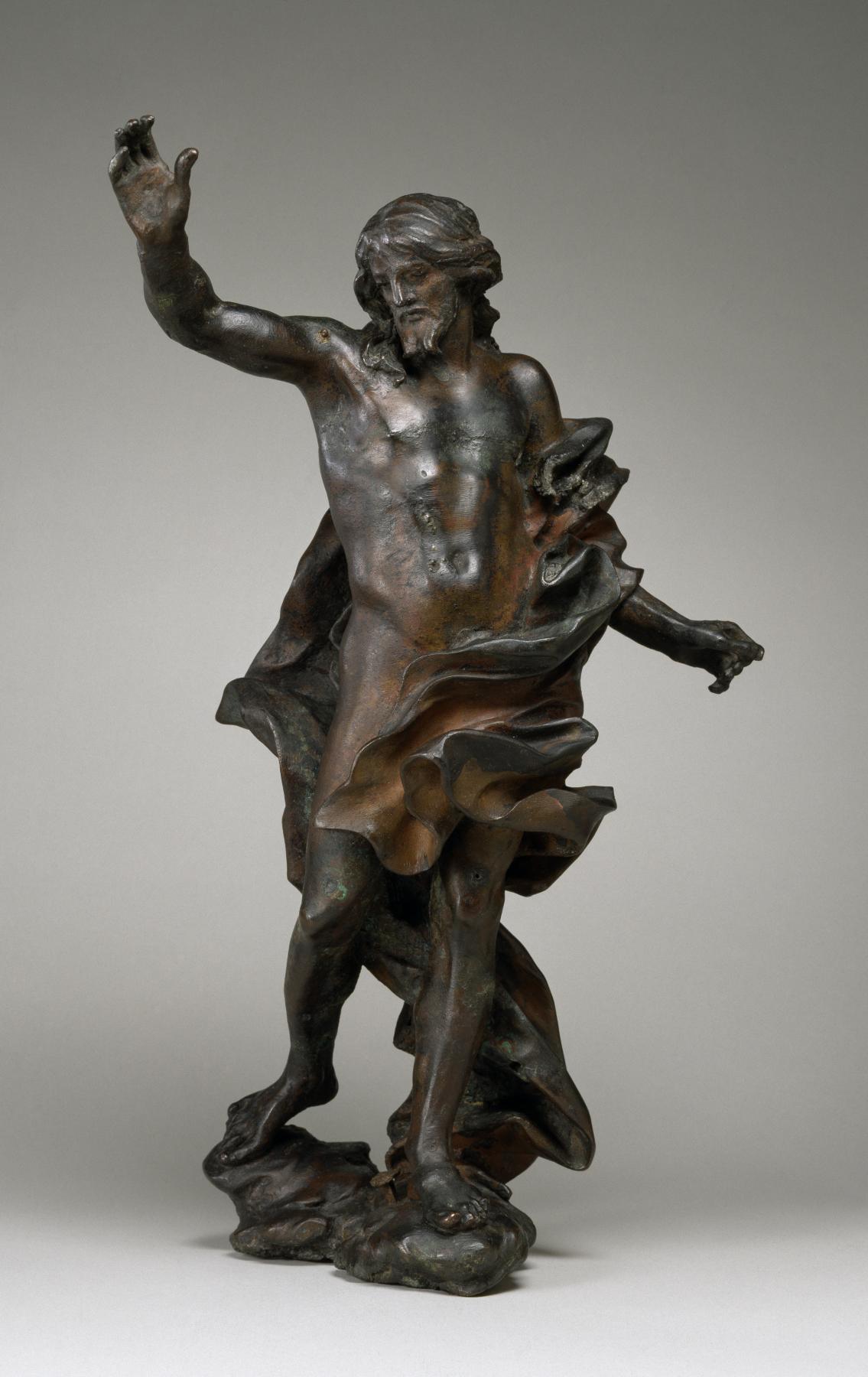 Giovanni Lorenzo Bernini Workshop_of_Gian_Lorenzo_Bernini_-_The_Risen_Christ_-_Walters_542281